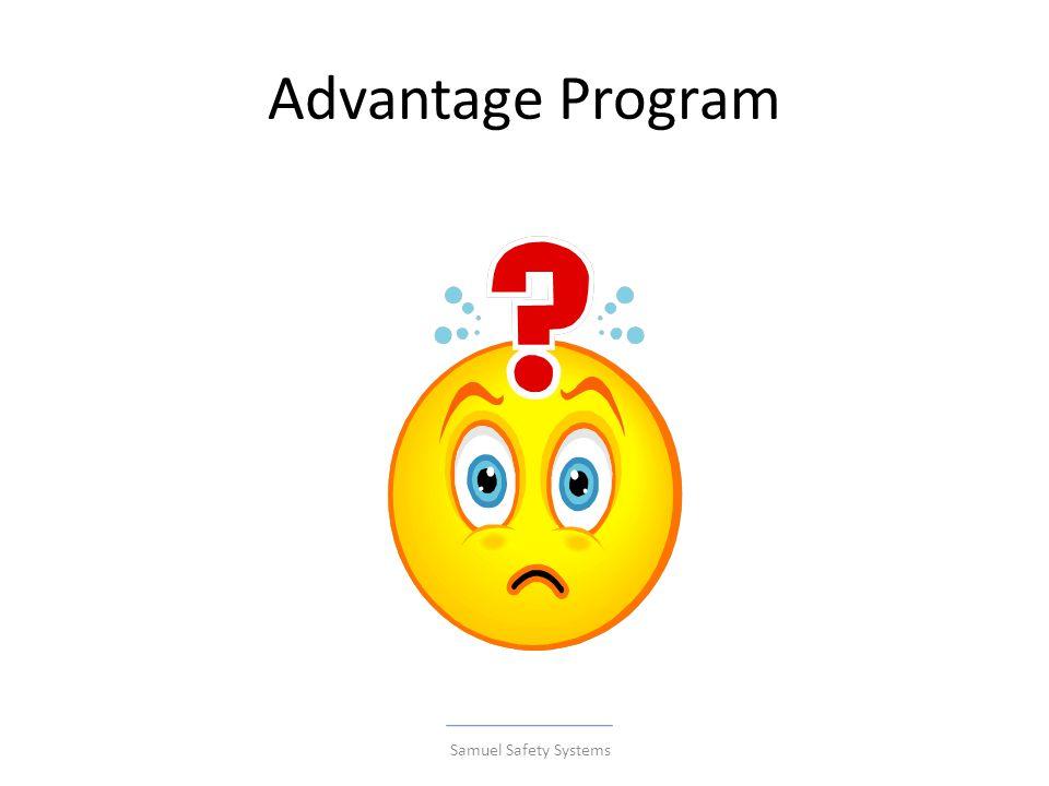Advantage Program Samuel Safety Systems