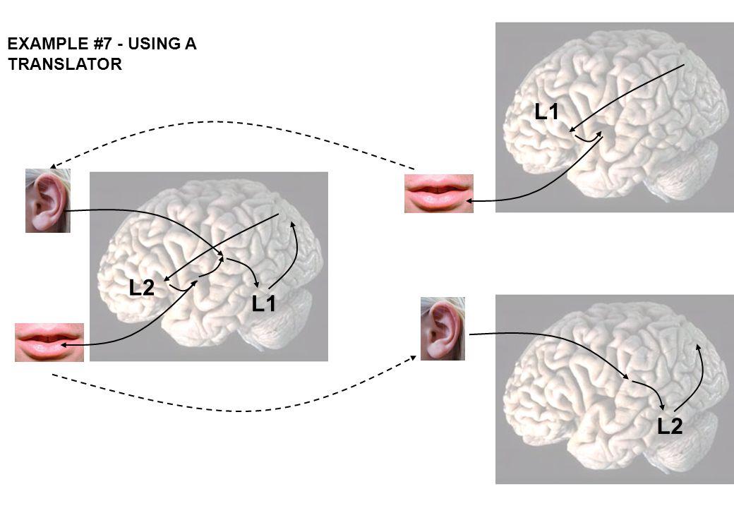 EXAMPLE #7 - USING A TRANSLATOR L1 L2