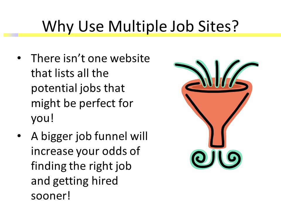 Why Use Multiple Job Sites.