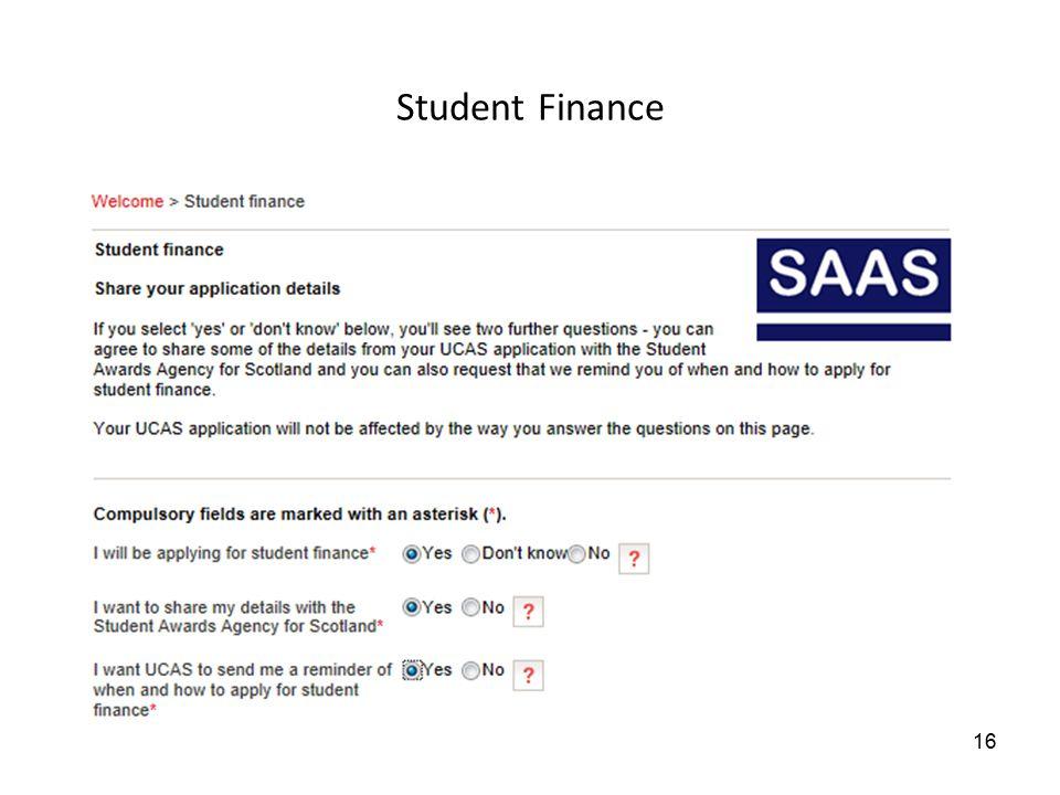 Student Finance 16