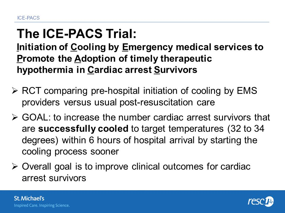 ICE-PACS FAQs and Answers Q: Do we have to lug the cooler onto every CA call.