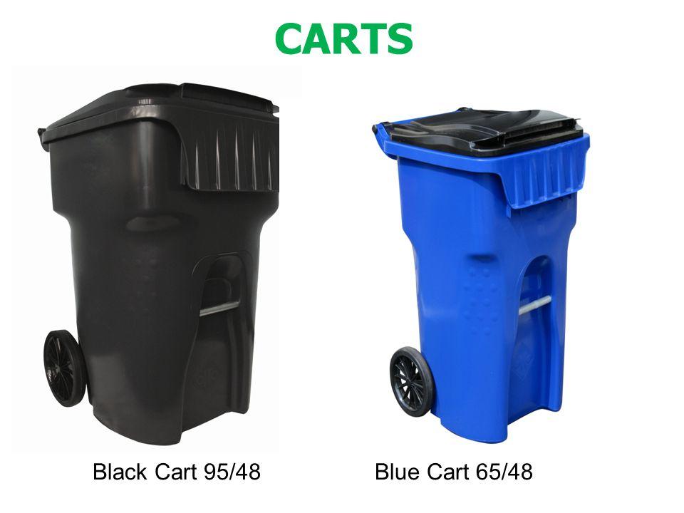 Black Cart 95/48 Blue Cart 65/48 CARTS