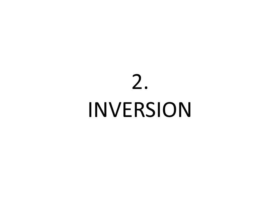 2. INVERSION