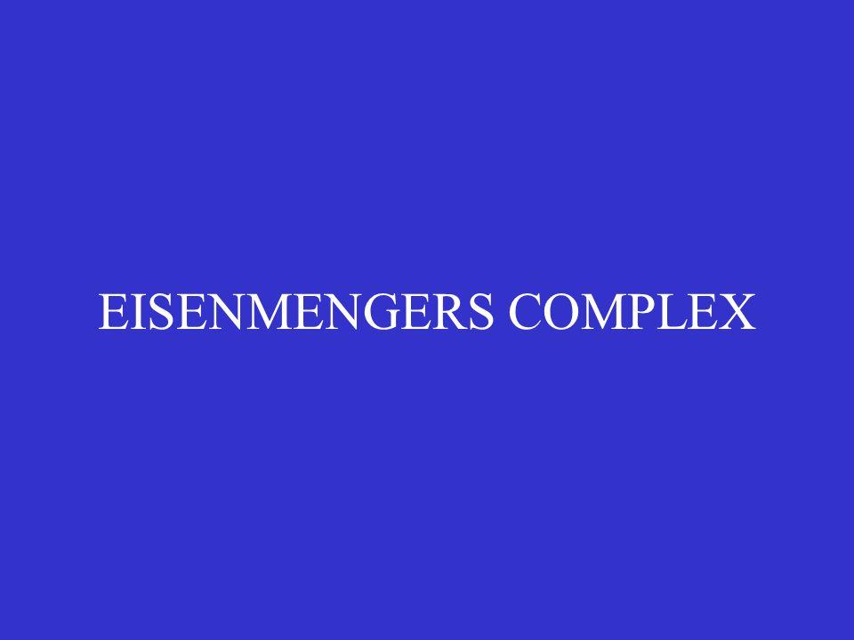 EISENMENGERS COMPLEX