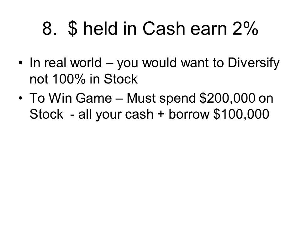 19. 10 Minute Break Stock Market Quiz after break