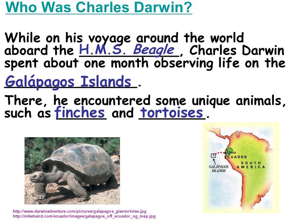 Who Was Charles Darwin.