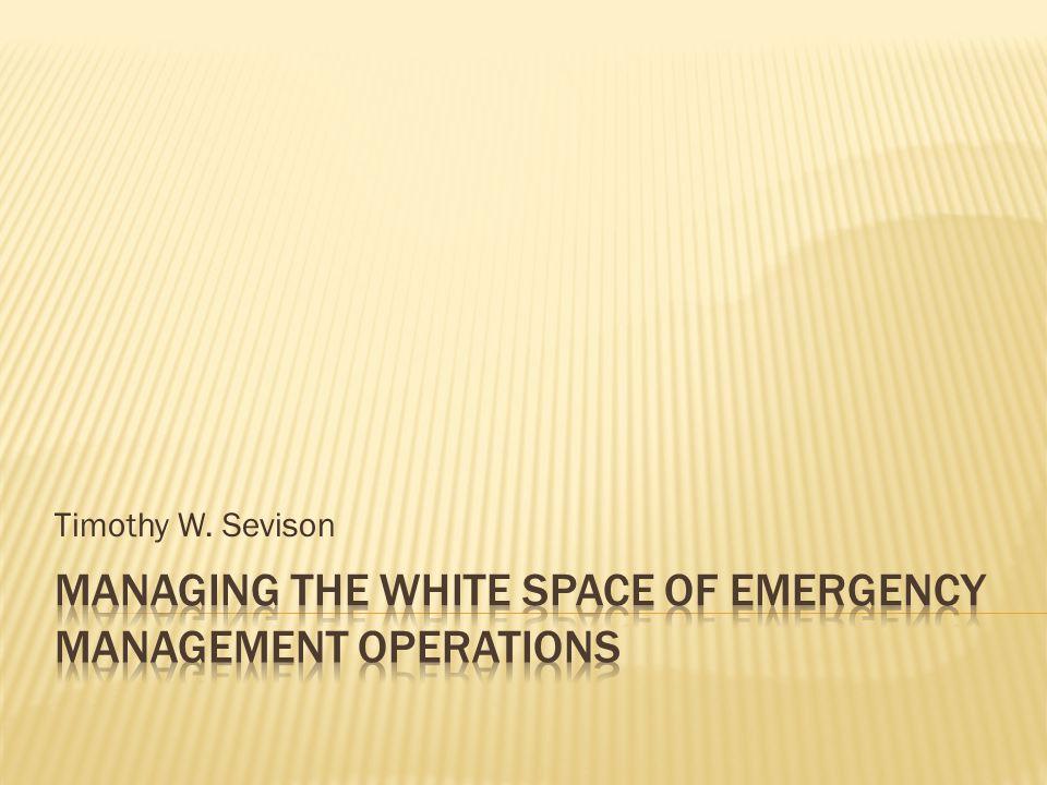 Timothy W. Sevison