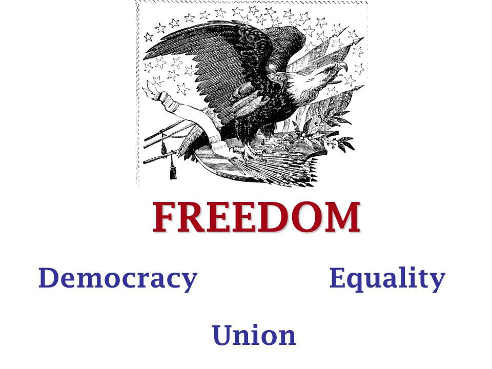 FREEDOM Democracy Union Equality