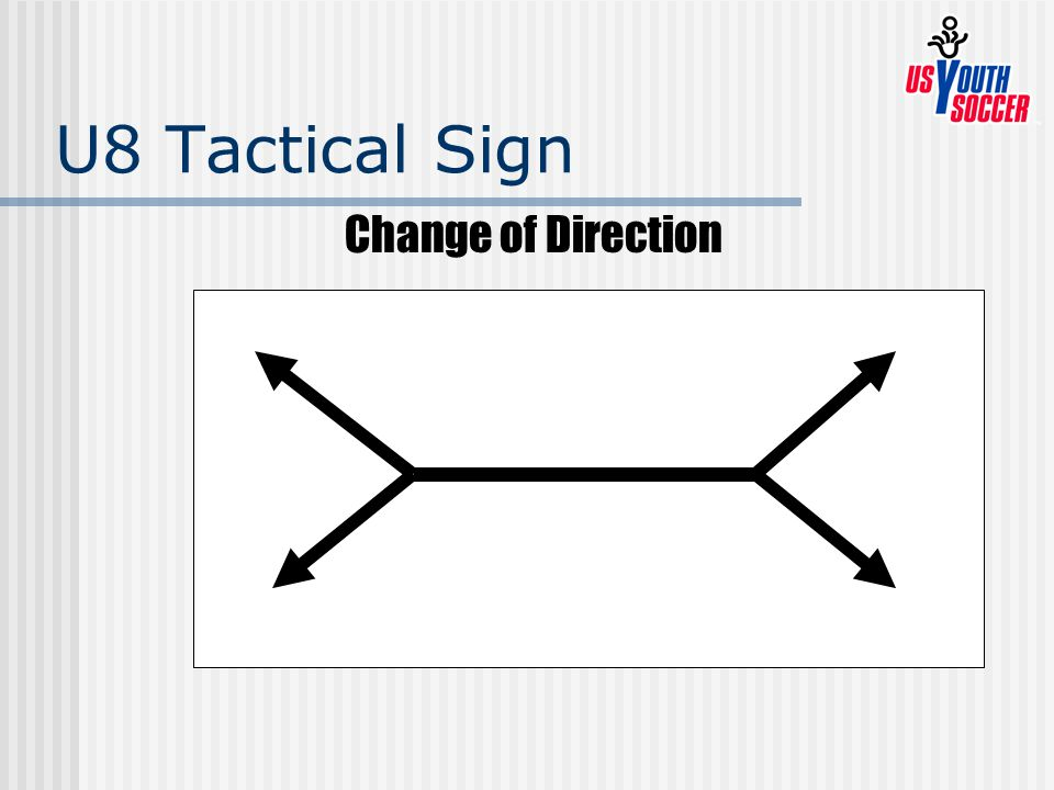 U8 Tactical Sign Change of Direction