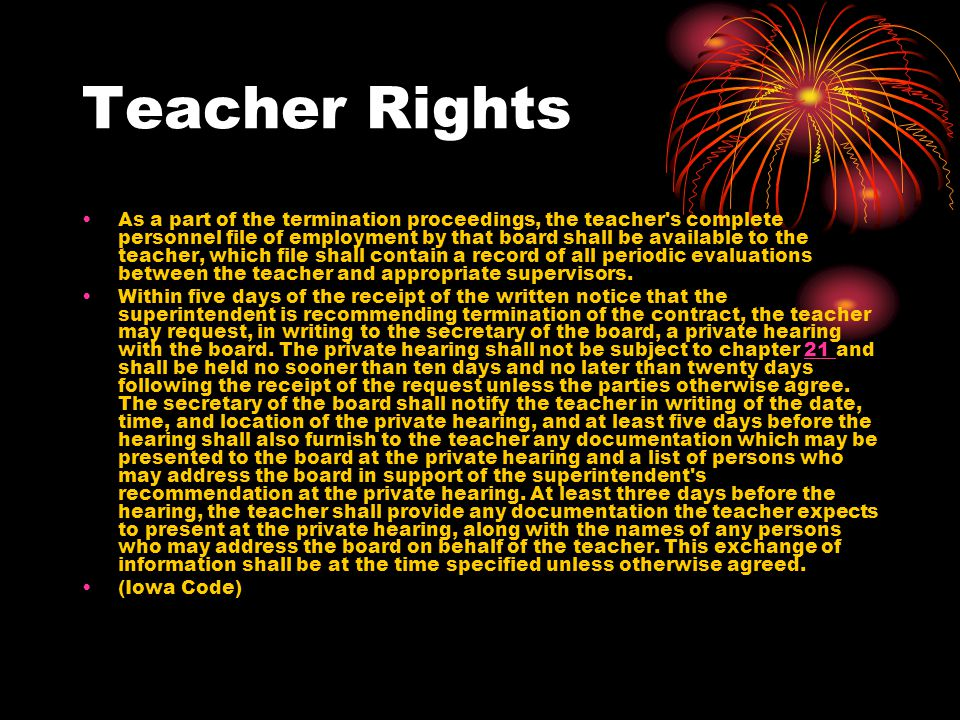 Teacher Rights Where a person's good name, reputation, honor, or integrity is at stake because of what the government is doing to him, notice and opportunity to be heard are essential.