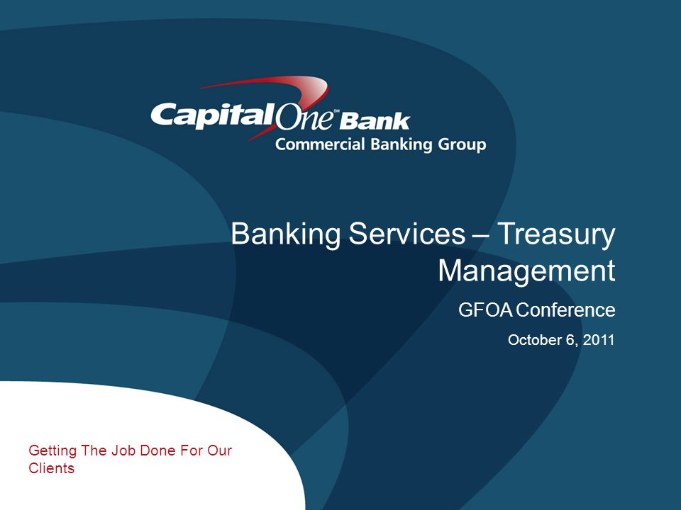 2 Talking Points  Assessing your Transactional Environment  Treasury Management Products/Services  Fraud Protection  Creating Efficiencies