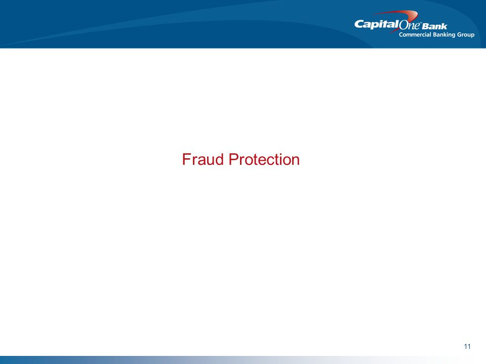 11 Fraud Protection