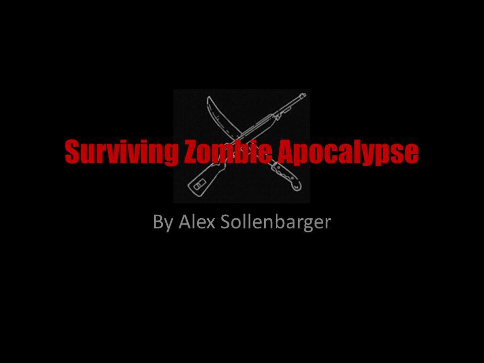 Surviving Zombie Apocalypse By Alex Sollenbarger