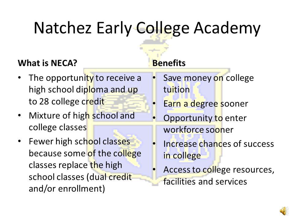 Open Enrollment Natchez Early College Academy 2015-2016 Curriculum Fair