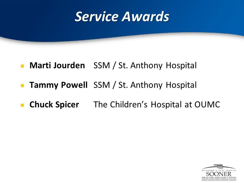6 Marti JourdenSSM / St. Anthony Hospital Tammy PowellSSM / St.
