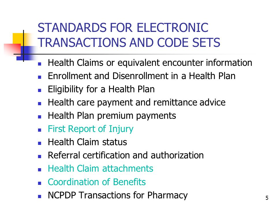 16 Health Care Services Review and Response (278) for Precertification and Referral Authorization Benefit for Patient and Provider Faster approval (denial) if health plan implements automatic adjudication Less anxiety for the patient Fewer phone calls and faxes Benefit for the Health Plan Fewer phone calls and faxes Can choose to implement automatic adjudication