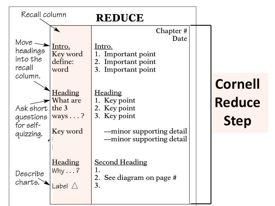 Cornell Reduce Step