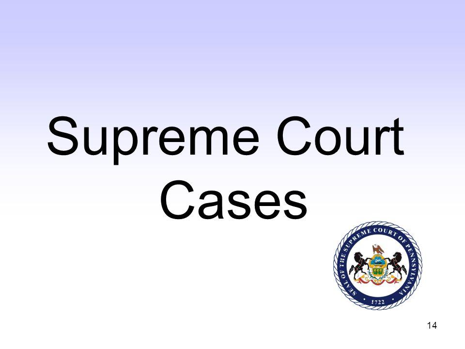 14 Supreme Court Cases