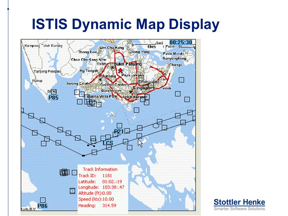 ISTIS Dynamic Map Display