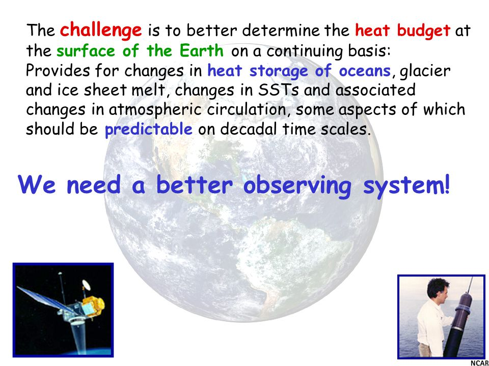 We need a better observing system.