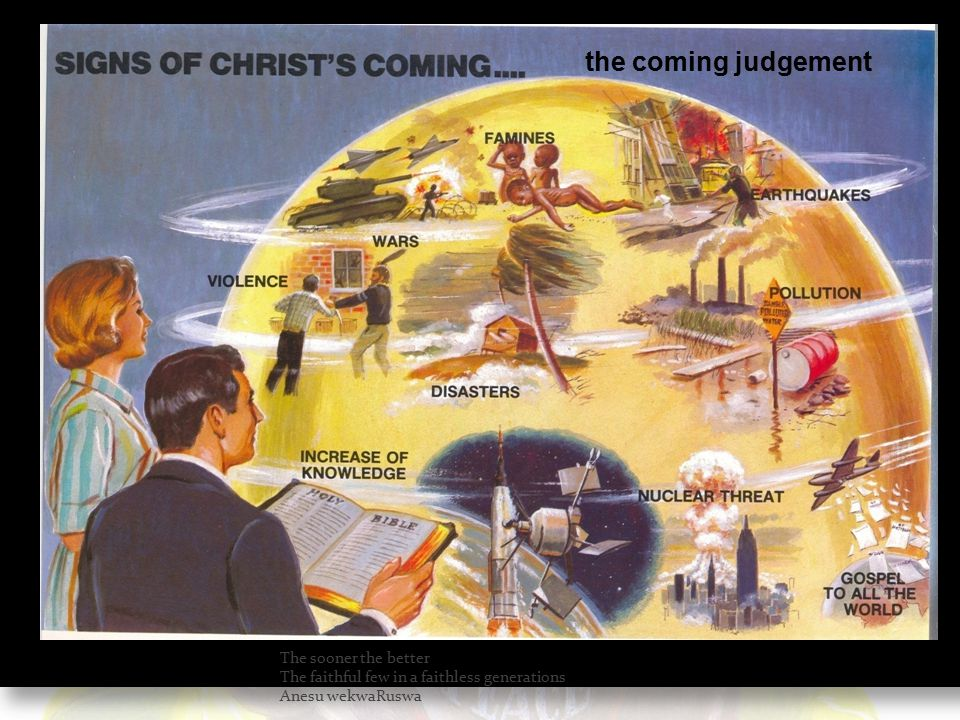 the coming judgement