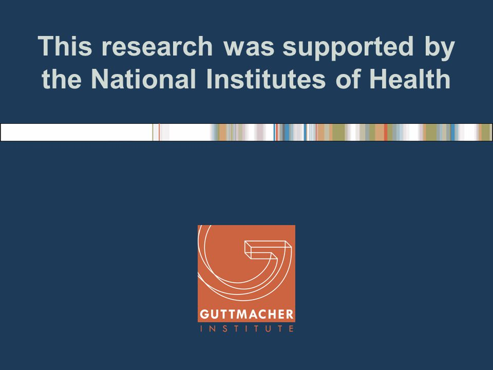 This research was supported by the National Institutes of Health