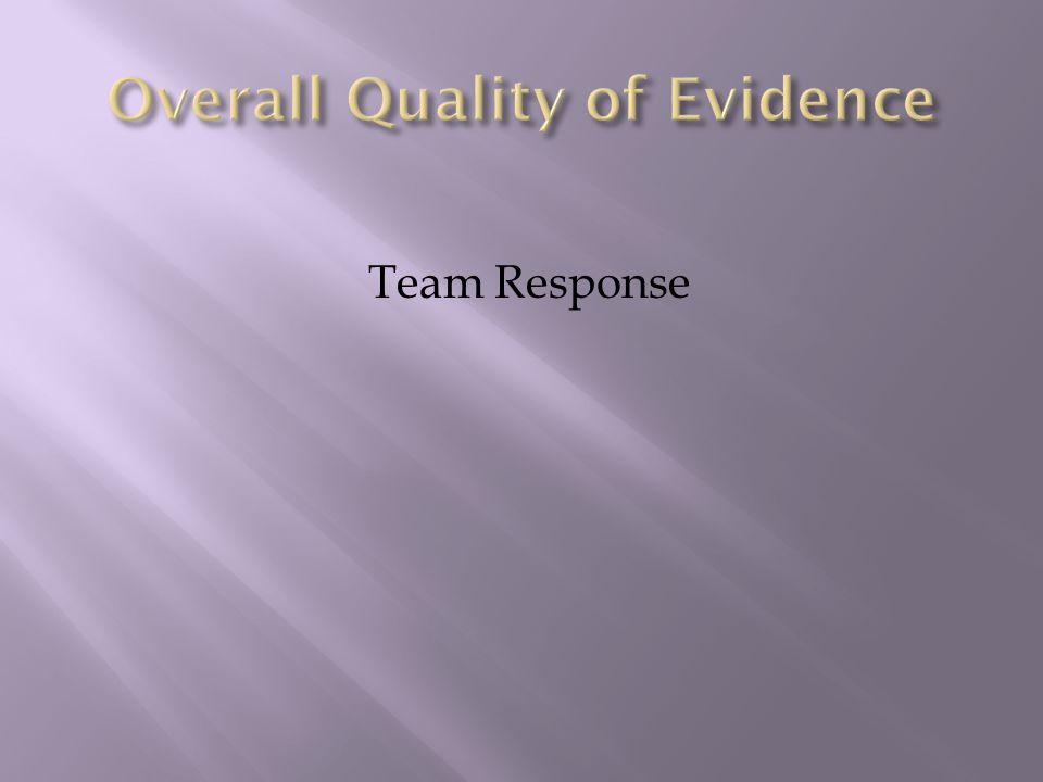 Team Response