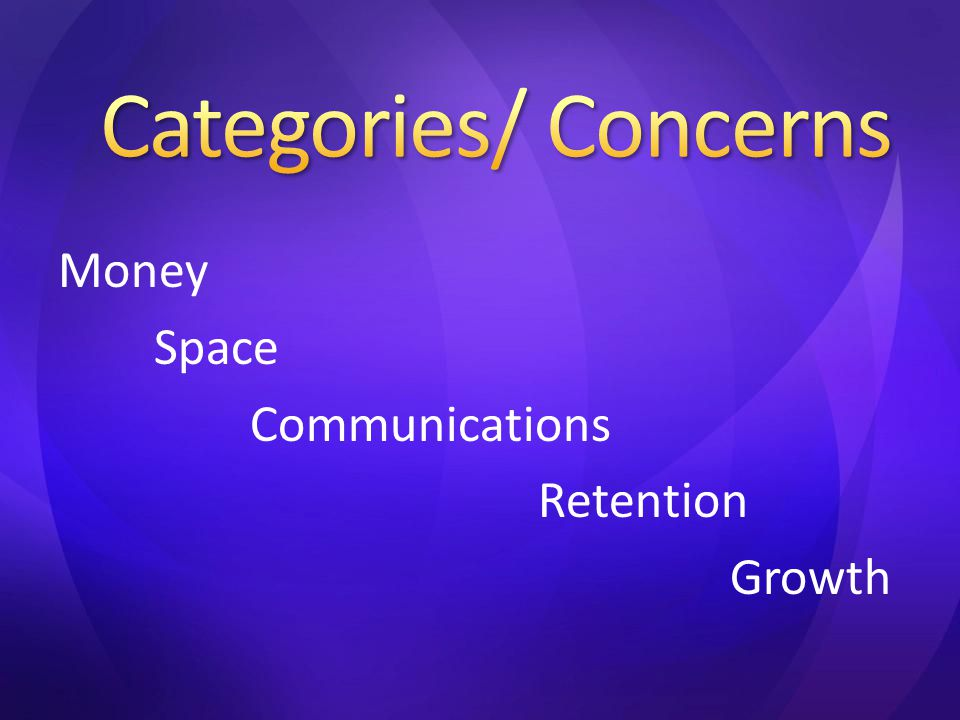 Money Space Communications Retention Growth