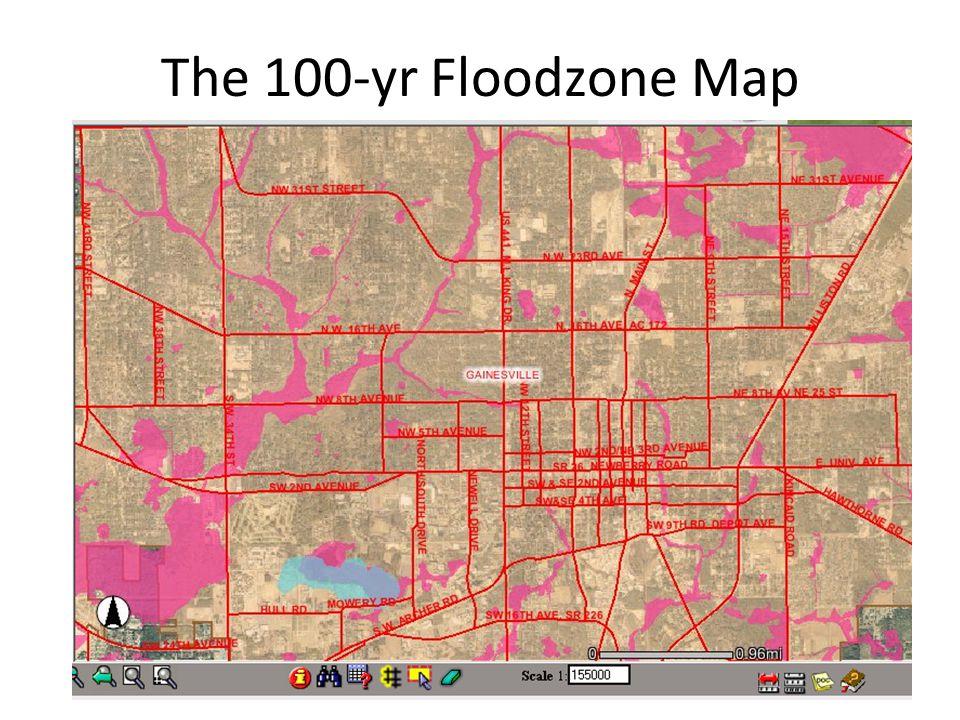 The 100-yr Floodzone Map