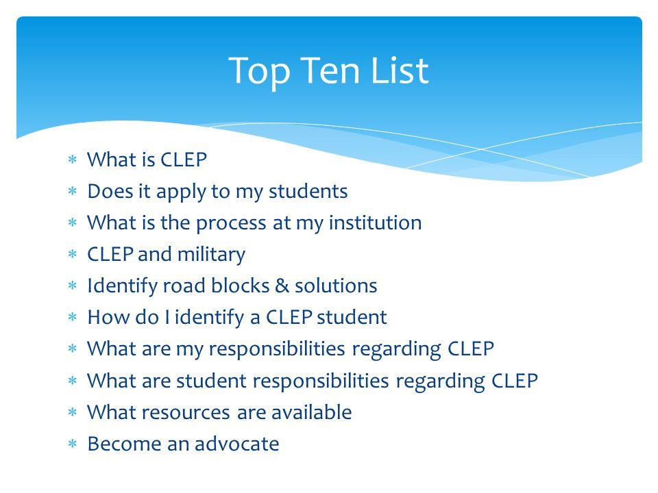 Understanding CLEP Facts & Benefits