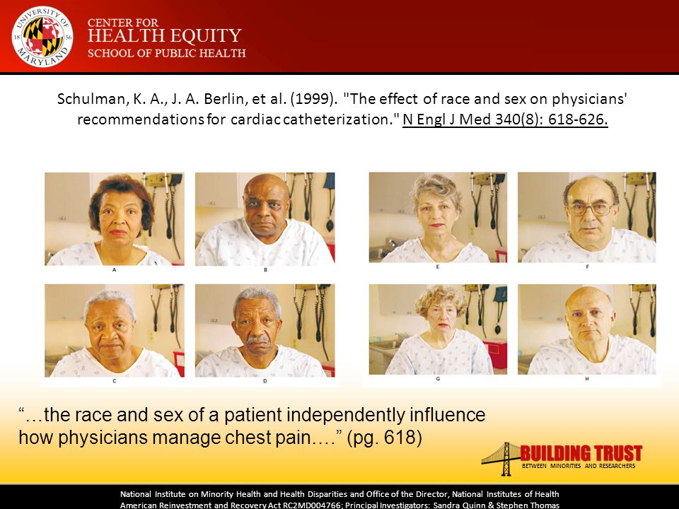 National Institute on Minority Health and Health Disparities and Office of the Director, National Institutes of Health American Reinvestment and Recov