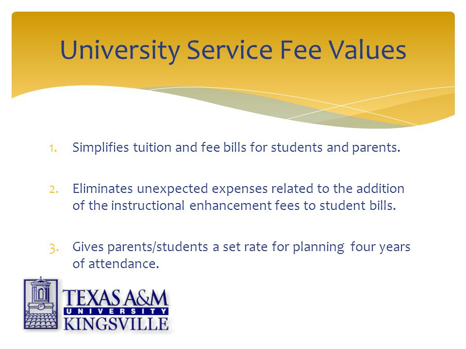 1.Simplifies tuition and fee bills for students and parents.