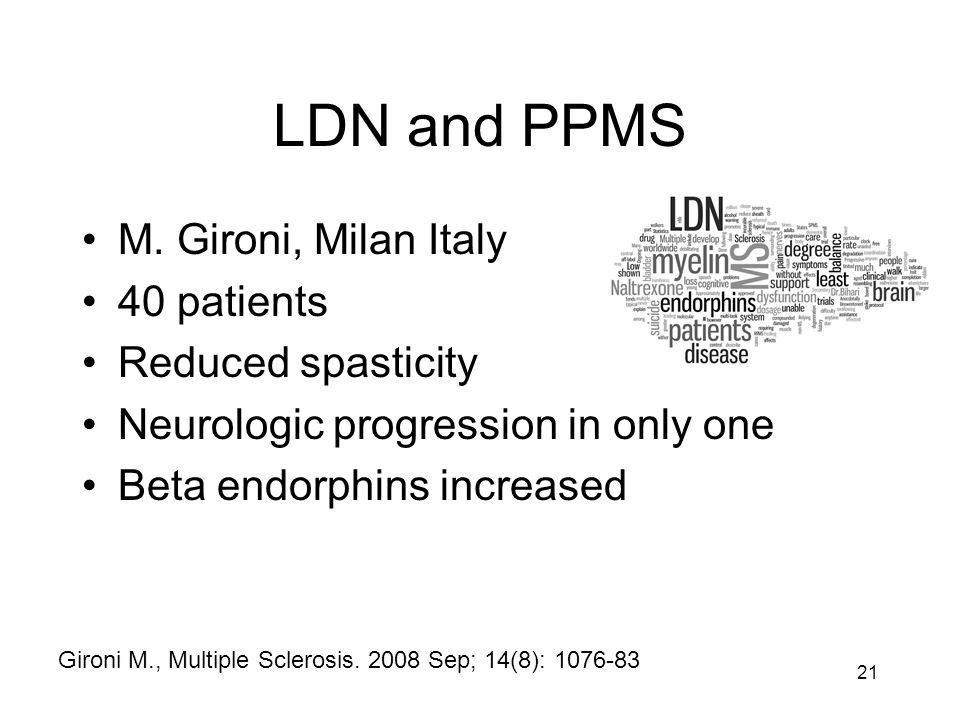 LDN and PPMS M.
