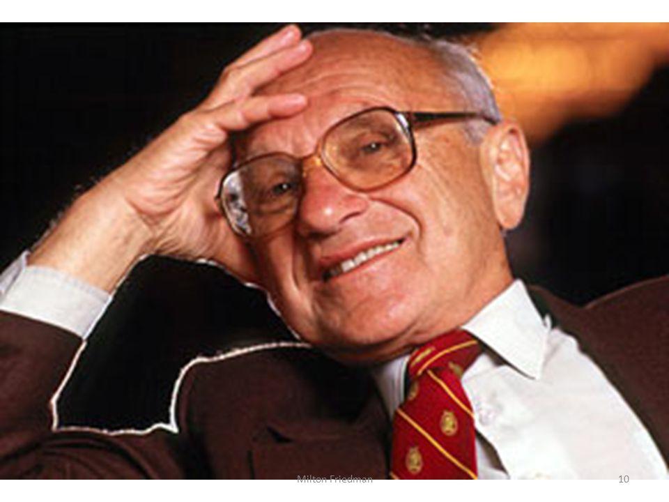 10Milton Friedman