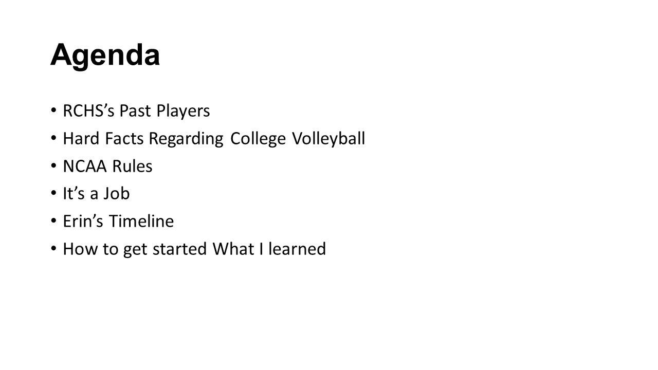 RCHS Alumni who played in college 08 – Kia K.09 – Nicole R.