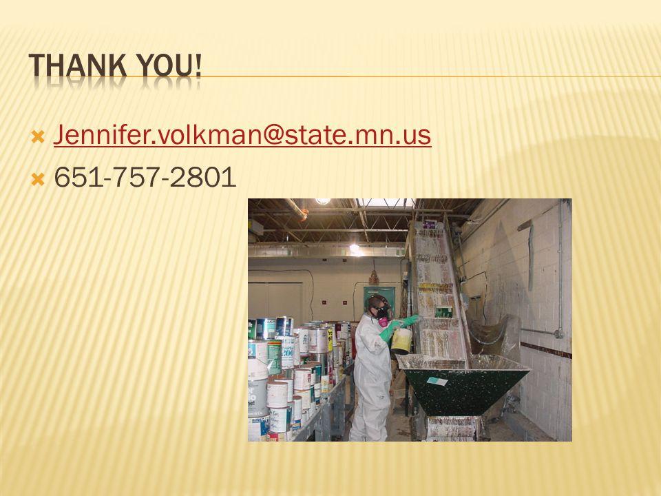  Jennifer.volkman@state.mn.us Jennifer.volkman@state.mn.us  651-757-2801