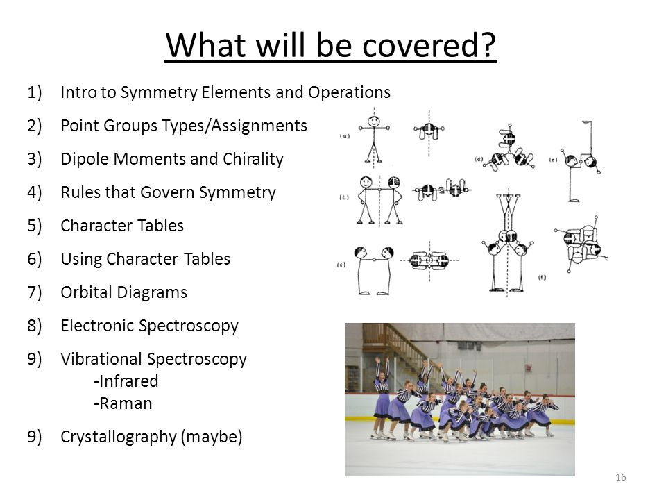 What will be covered.