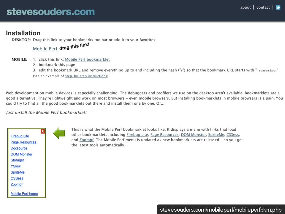 stevesouders.com/mobileperf/mobileperfbkm.php