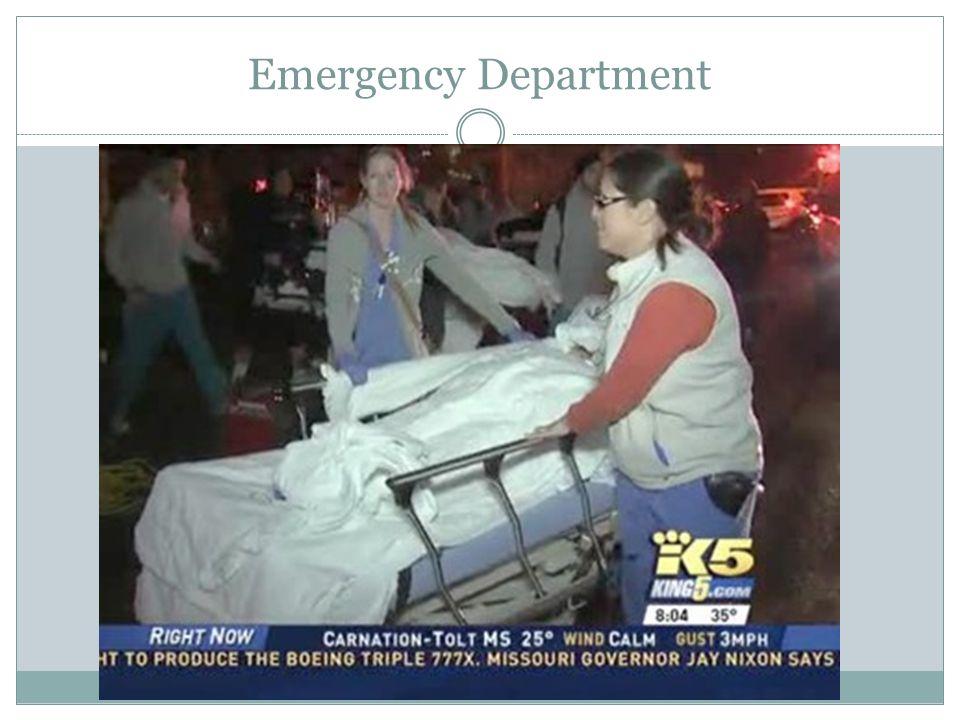 Emergency Department 12 Patients Tx  10 BLS  2 ALS 8 PGMC 3 Northwest 1 Swedish Ballard