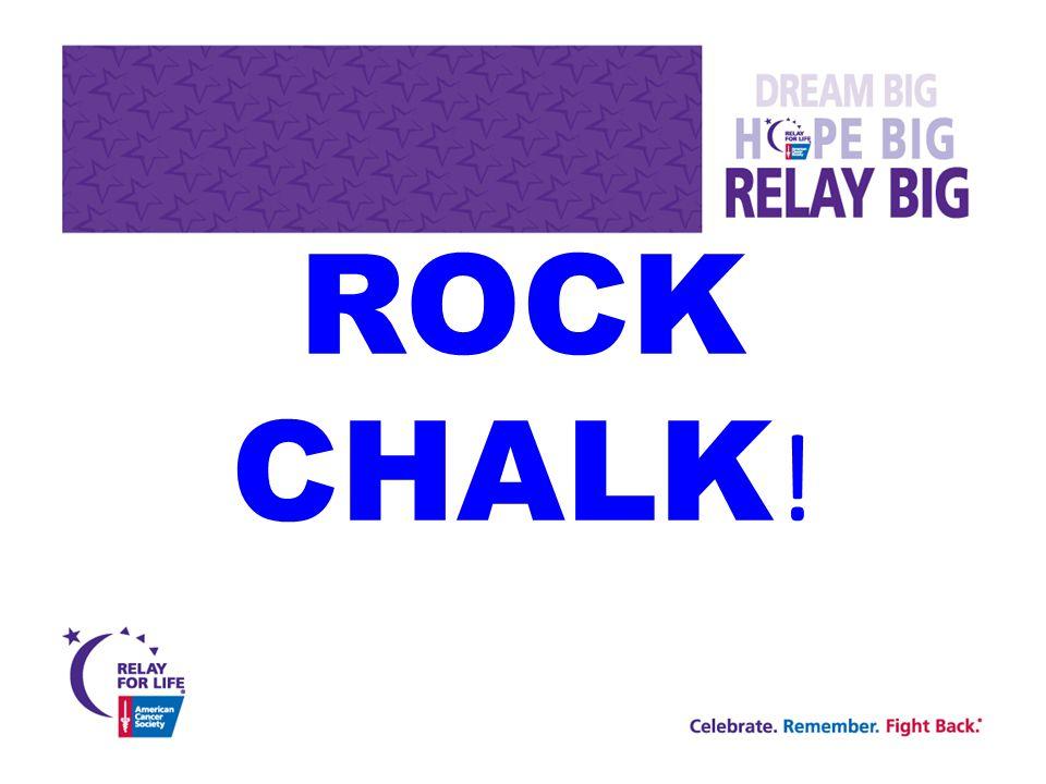 ROCK CHALK !