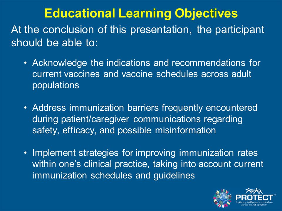 Provider Assessment and Performance Feedback Retrospectively assess the delivery of vaccine(s) Incorporates principles of continuous improvement AFIX –Assessment –Feedback –Incentives –eXchange Comprehensive Clinic Assessment Software Application (CoCASA) Immunization Information System (IIS) CDC.