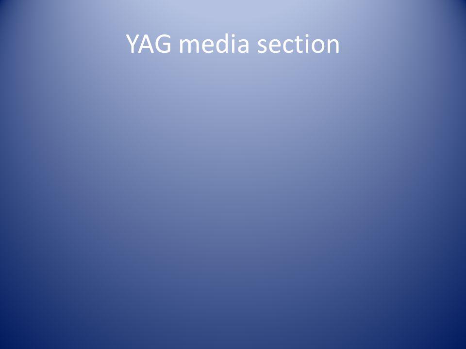 YAG media section