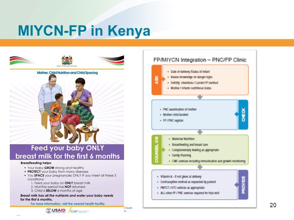 MIYCN-FP in Kenya 20