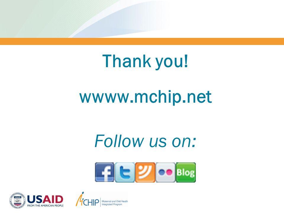 Thank you! wwww.mchip.net Follow us on: