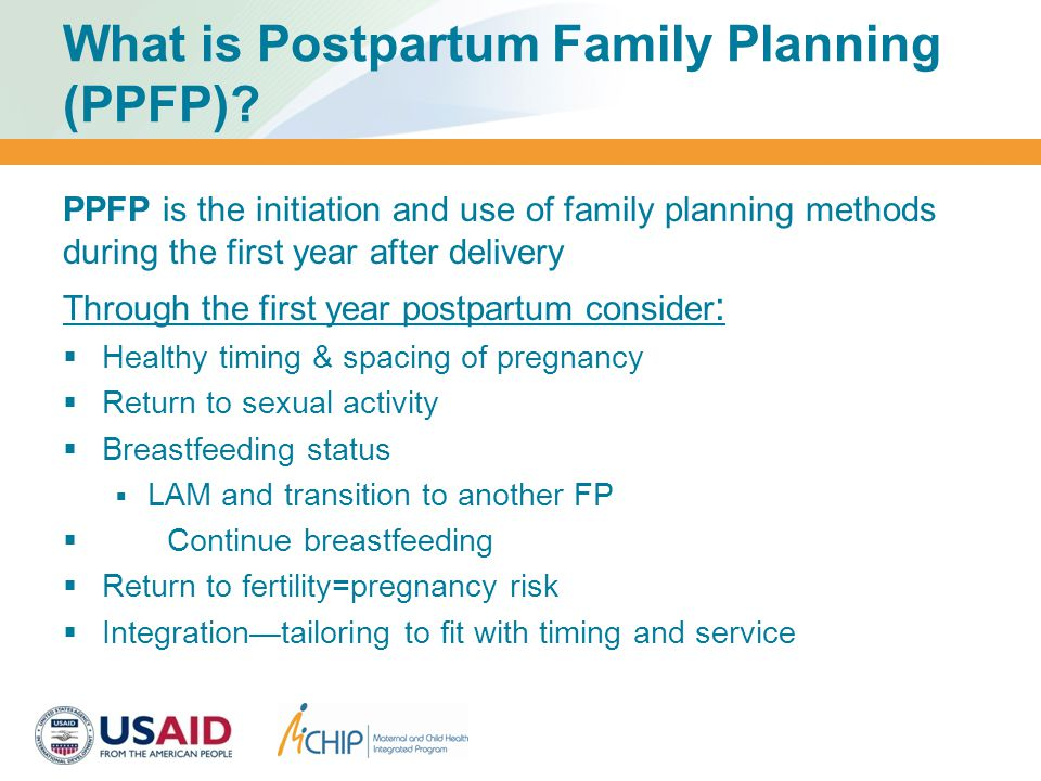 What is Postpartum Family Planning (PPFP).