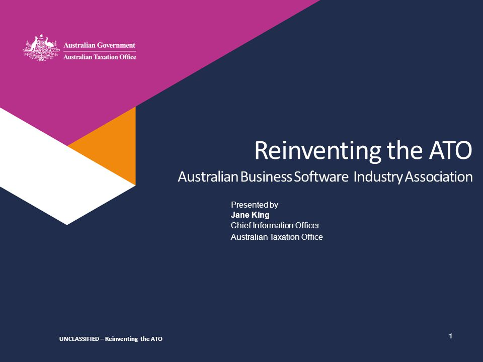 12 Software developers - Overview WE'RE ALREADY WORKING TOWARDS A BETTER FUTURE… INTENT To facilitate a thriving digital economy across all levels of government and industry and to make it easier for the community to participate in our tax and superannuation systems.
