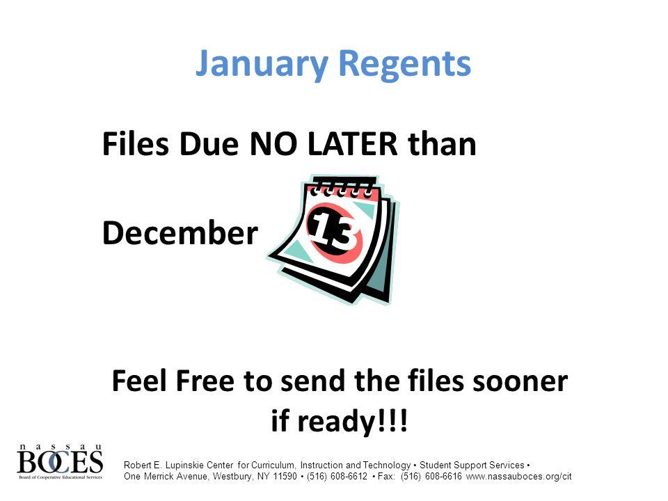 The Regent's FileThe Regent's File-Public DistrictCodeLocationCodeVersionAdminMonthStudentIDLastNameFirstNameGradeLevelCourseSectionTeacherNameStateCourseCodeDistrictNameSchool NY28012300012014-06-30Jan123456789DoeJohn00 Mrs.