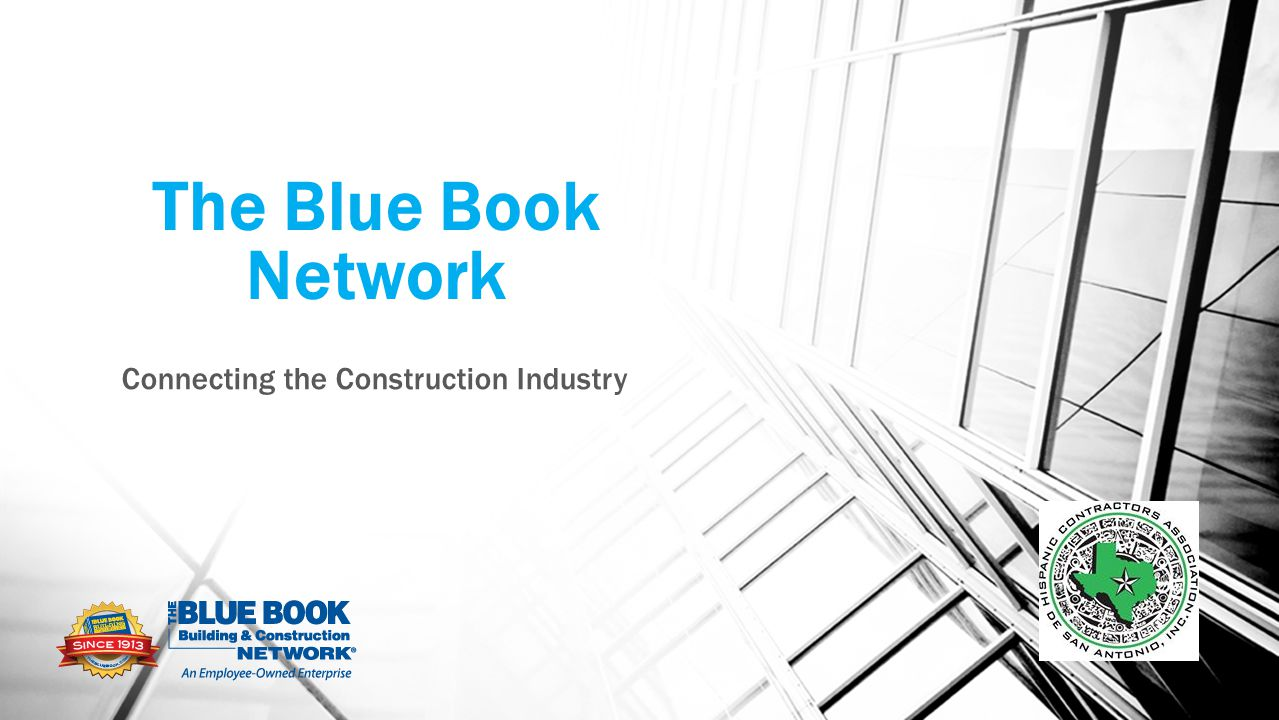The Blue Book Network Connecting the Construction Industry