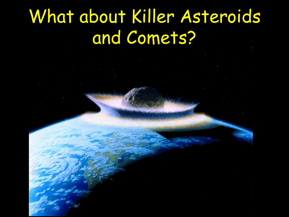 What about Killer Asteroids and Comets