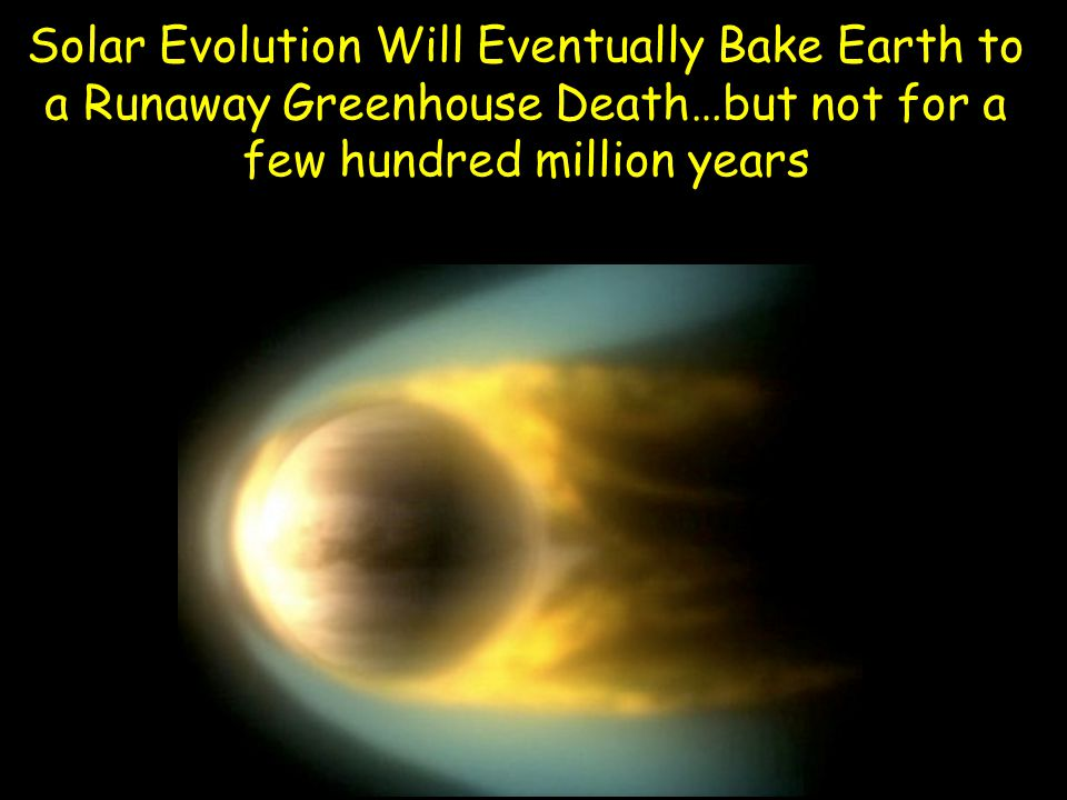 Solar Evolution Will Eventually Bake Earth to a Runaway Greenhouse Death…but not for a few hundred million years